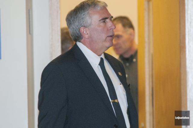 Le chef de la police de Saguenay, Denis... (Photo Le Quotidien, Michel Tremblay)