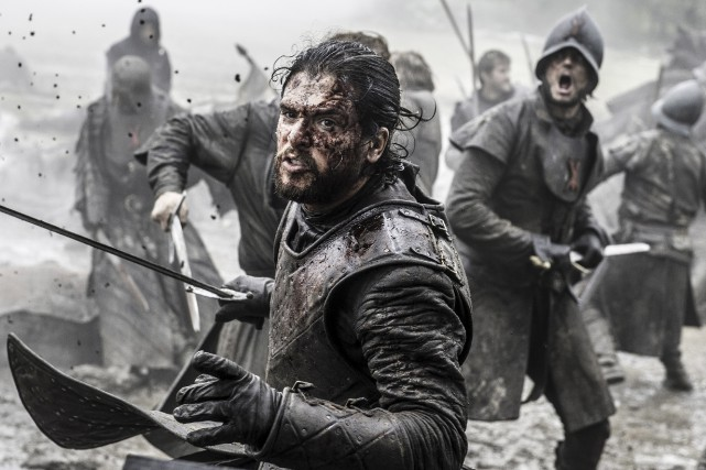 Jon Snow (interprété par Kit Harington) se retrouve... (AP, Helen Sloan/HBO)