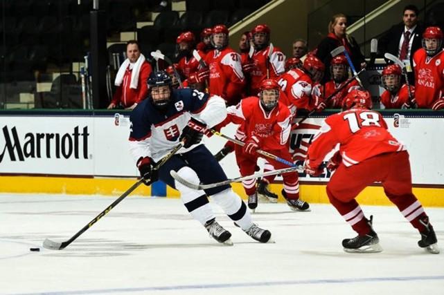 Le colosse Samuel Bucek a représenté la Slovaquie... (IIHF)