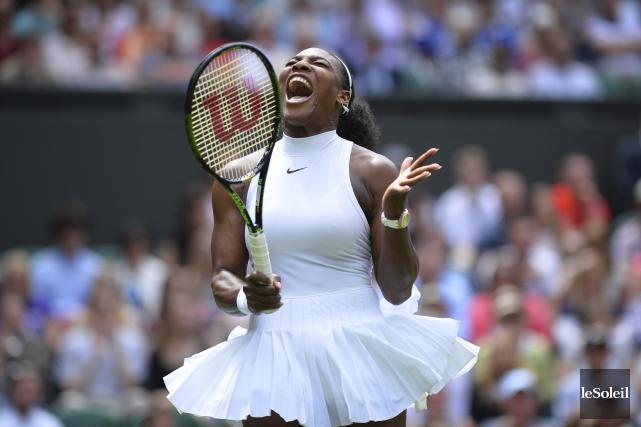 Serena Williams n'a pas été à la hauteur... (Photothèque Le Soleil)