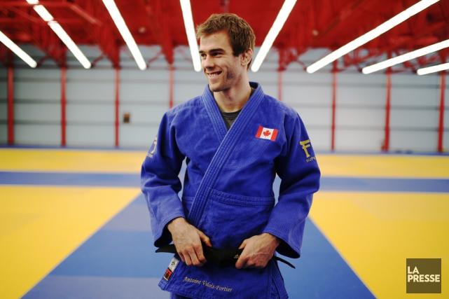 AntoineValois-Fortier mènera l'équipe canadienne de judo à Rio.... (Archives, La Presse)