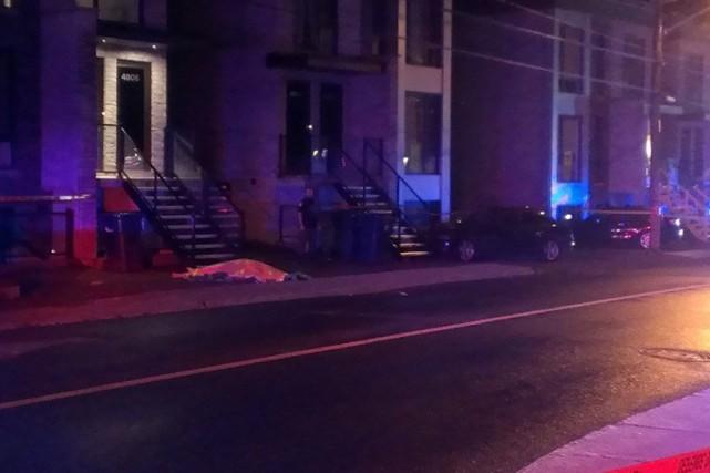 Un homme d'une vingtaine d'années a été tué mardi soir dans le secteur de... (PHOTO TIRÉE DE TWITTER)