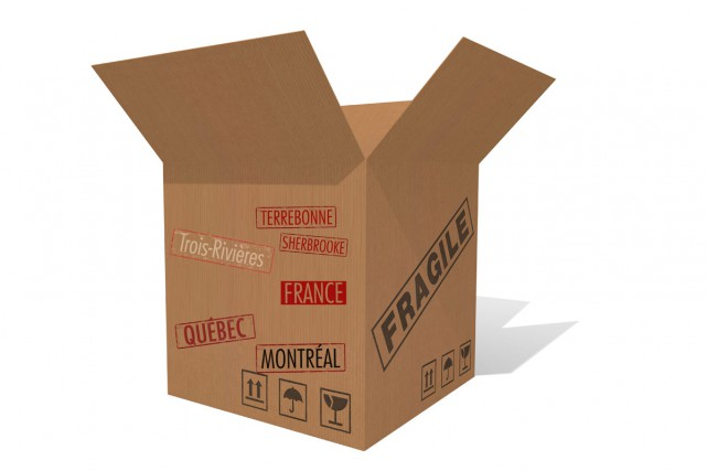 Faire du ménage, des boîtes, nettoyer le logis où l'on s'installera, organiser...
