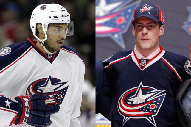 Seth Jones et Pierre-Luc Dubois... (Photos USA Today et AP)