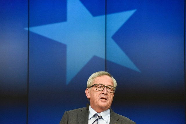 Le président de la Commission européenne, Jean-Claude Juncker... (PHOTO JOHN THYS, AFP)