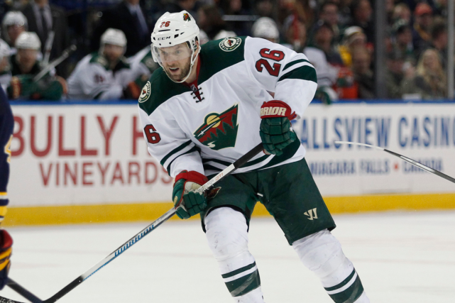 Thomas Vanek a récemment divorcé avec le Wild,... (Photo Timothy T. Ludwig, archives USA Today)