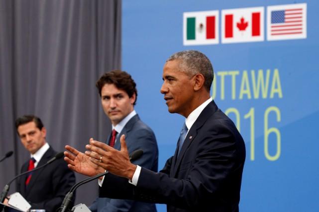 Обама призвал Канаду внести больший вклад в усилия НАТО по обеспечению безопасности в мире