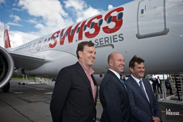 Le président de Bombardier Avions commerciaux, Fred Cromer,... (PHOTO ANDRÉ PICHETTE, LA PRESSE)