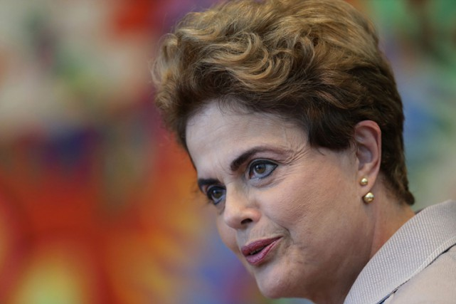 Dilma Rousseff... (PHOTO AP)