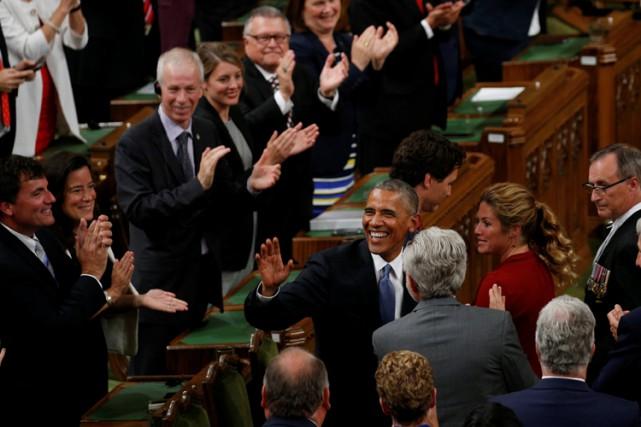Barack Obama est le septième président des États-Unis... (PHOTO REUTERS)
