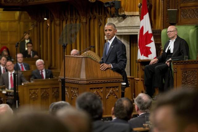 Barack Obama est le septième président des États-Unis... (Martinez Monsivais, Associated Press)