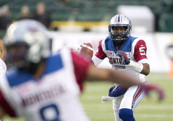 Le quart-arrière des Alouettes Kevin Glenn... (Photo Jason Franson, La Presse Canadienne)