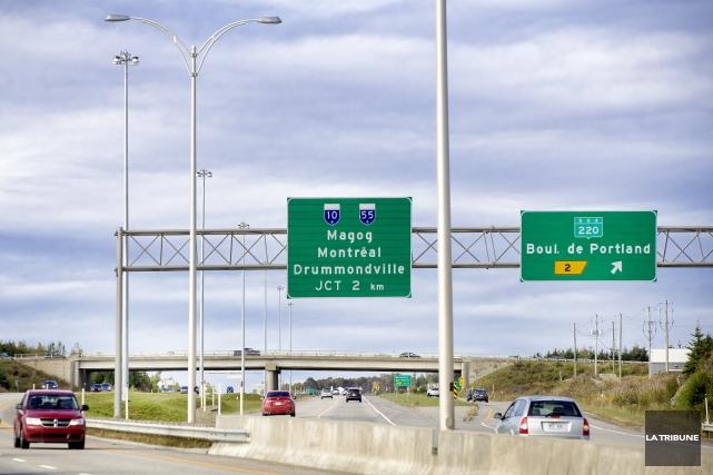 Le ministère des Transports du Québec (MTQ) rectifie... (Archives, La Tribune)