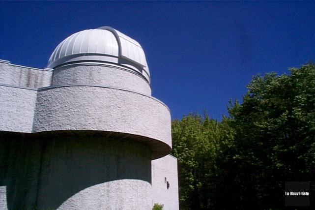 L'Observatoire du Cégep de Trois-Rivières à Champlain.... (Archives Le Nouvelliste)