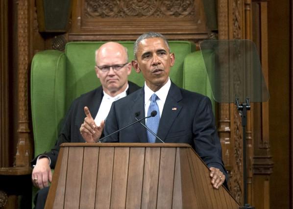 Le président des États-Unis, Barack Obama, lors de...