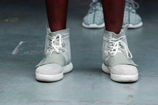 La collaboration entre Adidas et Kanye West, entamée... (PHOTO REUTERS)