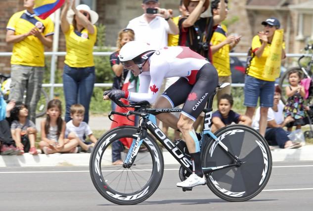 Hugo Houle participera à ses premiers Jeux olympiques,... (Comité olympique canadien)
