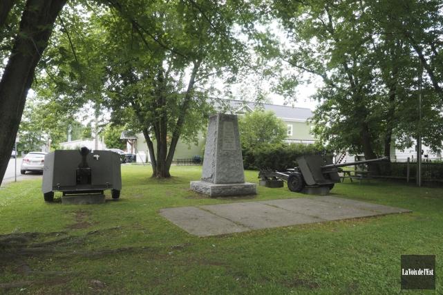 Le parc commémoratif, souvent appelé le parc des... (Alain Dion, La Voix de l'Est)