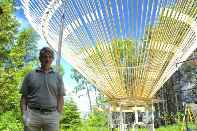 Cinq nouvelles installations aux jardins de m tis for Jardin de metis 2016