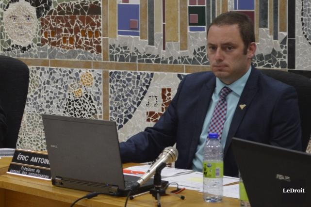 Le président de la CSCV, Éric Antoine, s'est... (Benoit Sabourin, LeDroit)