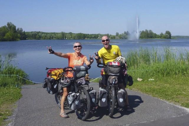 Denise Blanchard et Charles Coderre sont revenus à... (Photo fournie par le couple)