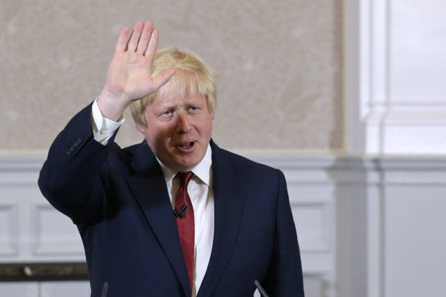 Boris Johnson... (PHOTO Matt Dunham, AP)