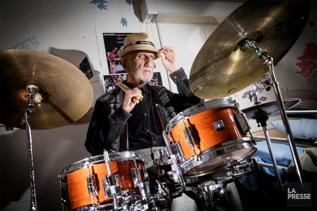 Depuis quelques années déjà, le roi du drumGuy... (PHOTO ALAIN ROBERGE, LA PRESSE)