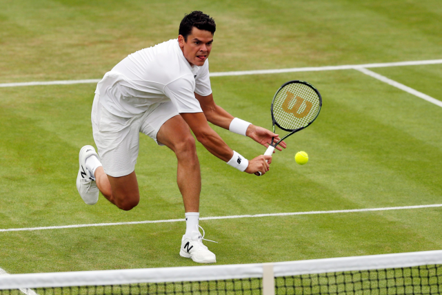 Milos Raonic... (Photo Ben Curtis, AP)