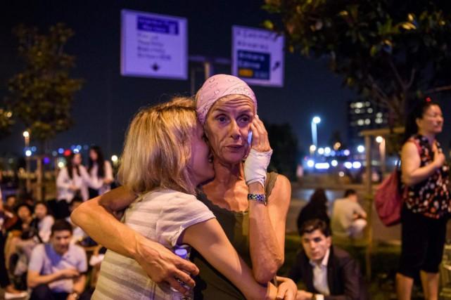 L'attaque survenue mardi, la quatrième et la plus... (AFP, Ozan Kose)