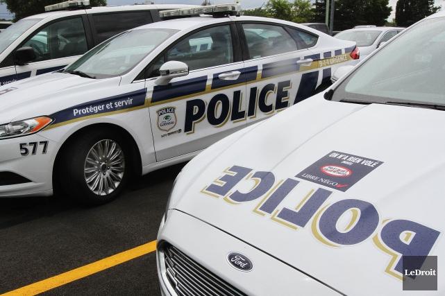 Depuis 23 h, mercredi, les autopatrouilles du Service... (Archives, Ledroit)