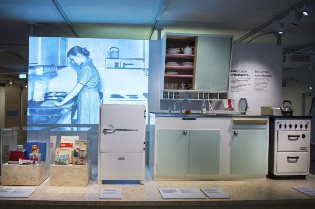 Une cuisine au musée Ikea de Älmhult en... (PHOTO AFP)