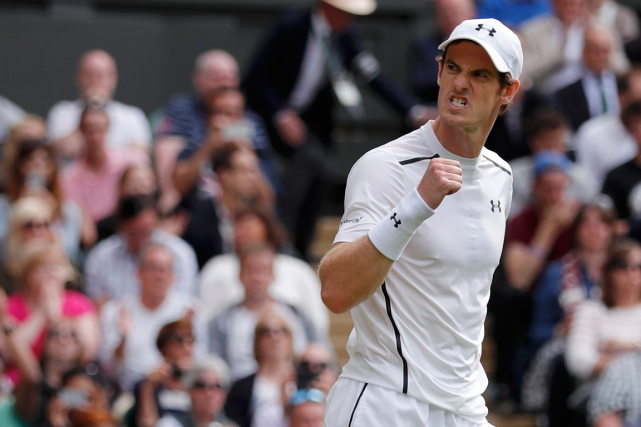 Andy Murray n'a pas traîné pour se qualifier pour... (Photo Andrew Couldridge, Reuters)
