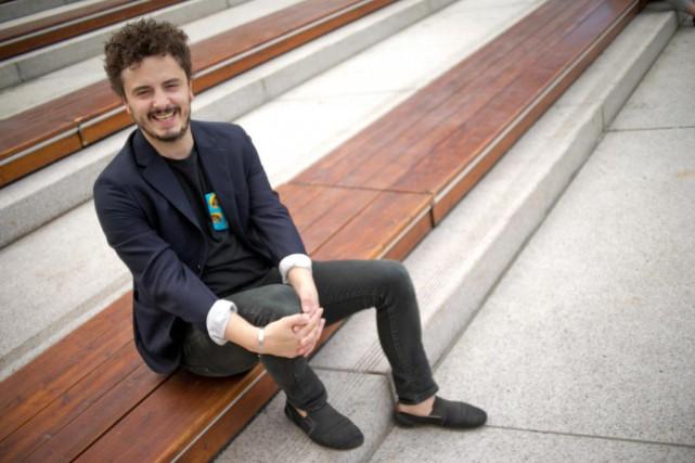 Maurin Auxéméry fait partie de l'équipe de programmation... (Photo David Boily, La Presse)