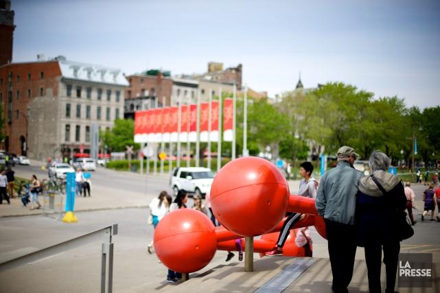 Le Vieux-Port de Montréal... (PHOTO SARAH MONGEAU-BIRKETT, ARCHIVES LA PRESSE)