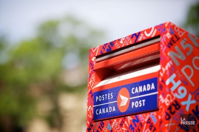 La partie patronale de Postes Canada entend suspendre... (Archives La Presse)