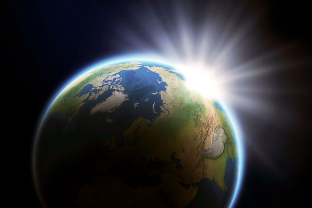 La couche d'ozone forme un bouclier gazeux, entre... (Photo d'archives)