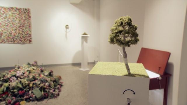 Les oeuvres de 21 artistes de Saguenay sont... (Télé-Québec)