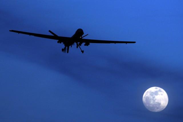Les frappes de drones américaines se sont considérablement... (Photo archives AP)