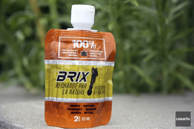 Brix est un gel énergétique entièrement naturel et... (Christophe Boisseau-Dion, La Voix de l'Est)
