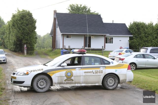 L'opération policière menée mercredi dans la région a... (Archives, La Voix de l'Est)