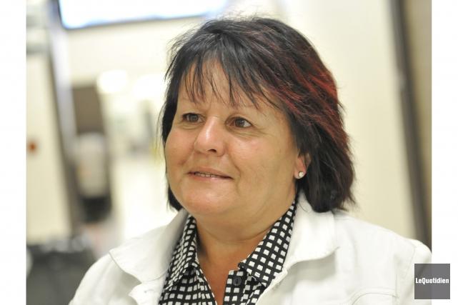 Roxanne Thibeault, présidente de la Commission scolaire Lac-Saint-Jean.... (Le Quotidien, Gimmy Desbiens)