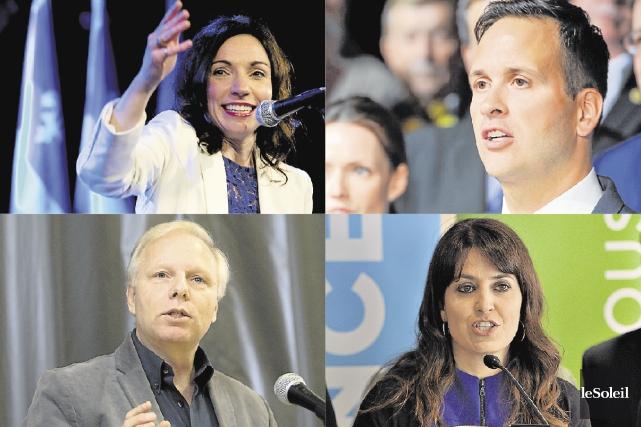 Cinq candidats feront partie de la course à... (Photothèque Le Soleil)