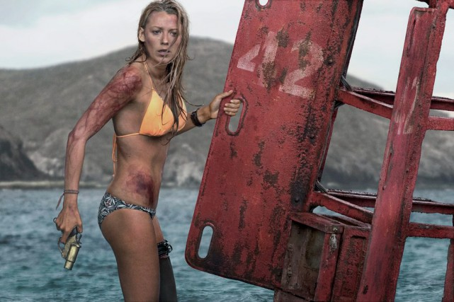 Blake Lively est Nancy Adams dans The Shallows... (Photo fournie par Sony Pictures)