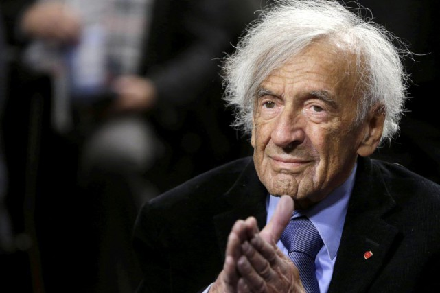 Elie Wiesel en 2015.... (PHOTO GARY CAMERON, ARCHIVES REUTERS)