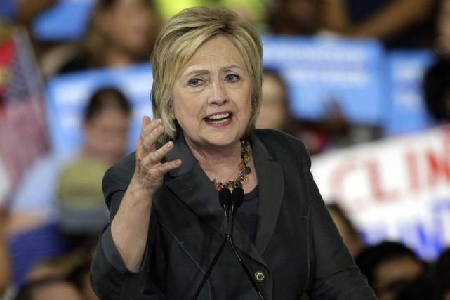 La campagne d'Hillary Clinton pour l'élection présidentielle du... (Archives AFP, Chuck Burton)
