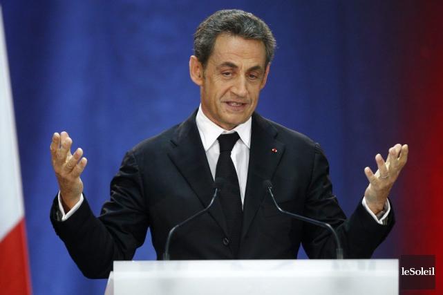 S'il officialise sa candidature, Nicolas Sarkozy devra probablement... (Photothèque Le Soleil)