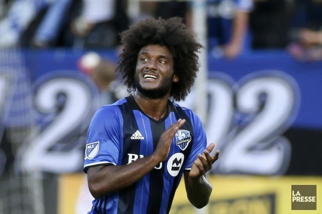 À son premier départ en MLS, MichaelSalazar a... (PHOTO ROBERT SKINNER, LA PRESSE)