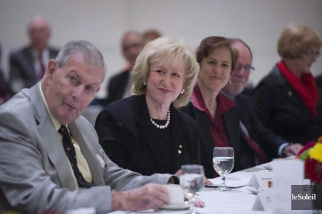 L'ancienne première ministre conservatriceKim Campbell, en 2015... (Photothèque Le Soleil)
