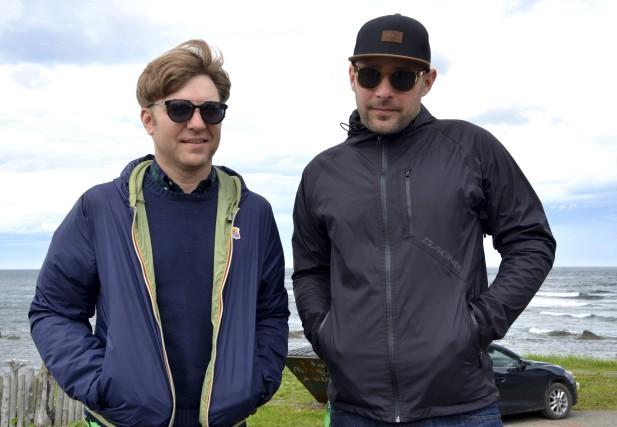 Simon Proulx et Charles Dubreuil, deux membres du... (Collaboration spéciale Johanne Fournier)