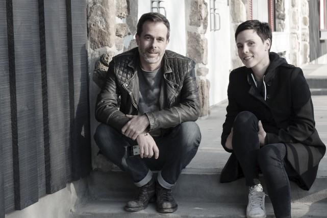 Nicholas Tittley et Pascale Picard dans Unis par... (Fournie par Unis tv)